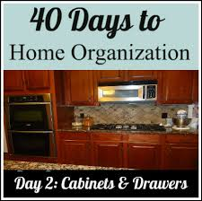cabinets with drawers. organize your cabinets and drawers with