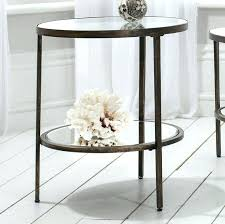 round metal and glass side table round metal side table coffee table glass side table metal