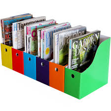 Binder Magazine Holders Evelots Lot of 100 MagazineFile Holders Bin Desk Organizer Kitchen 26