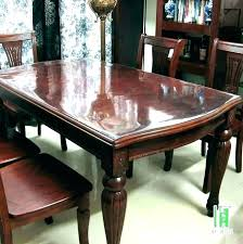 Protective Table Pads Dining Room Tables Impressive How To Make Table Pads For Dining Room Tables Protector Kitchen P