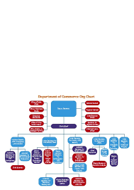 Commerce Org Chart Department Of Commerce Edraw