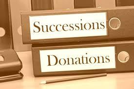 succession donation libéralités