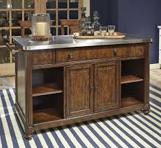Kitchen Gorgeous Portable Kitchen Island With Rustic Style Also