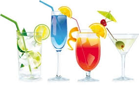 Image result for cocktails clipart