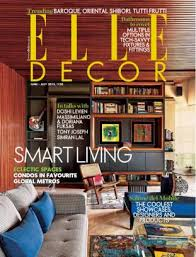 Small Picture Elle Decor India Magazine June July 2015 issue Get your