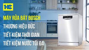 Máy Rửa Bát Bosch HMH: Làm sạch tối ưu, tiết kiệm nước (Model: SMS68PW01E)  • Siêu Thị Điện Máy HC - YouTube