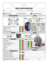 Free Printable Vehicle Inspection Form Vehicle Inspection Sheet Template And Free Printable Vehicle