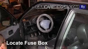 interior fuse box location 1989 1996 Fuse Box On A Ford Fiesta Ford Fiesta 1.6