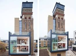 Water Tower Home Stunning Water Tower Conversion In London
