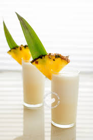 rum pineapple coconut tail