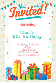 Birthday Party Invitation Card Template Free Card Party Invitation Under Fontanacountryinn Com