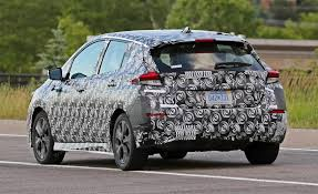 expect to see the new nissan leaf in september 2017