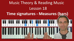 Some published (usually earlier) music places the numeral 1 above the rest to confirm the extent of the rest. Measures Bars How Many Beats In A Bar Piano Theory Exercises