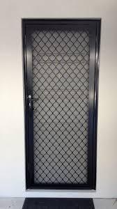 security screen doors. Black Diamond Grille Security Screen Door Doors A
