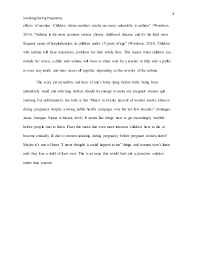 smoking during pregnancy essay finished 4 4 smokingduringpregnancy effects