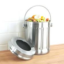 kitchen compost kitchen compost pail metal compost pail aluminum kitchen compost container bed bath beyond kitchen