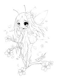 Coloring Pages Chibi Page Pokemon Disney Princess Colouring Mebelmag