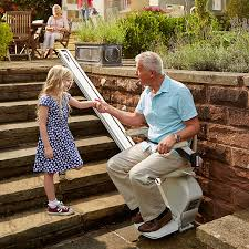 exterior stair chair lift. Brilliant Lift Acorn 130 Stairlift For Outdoor Space Outdoor Weatherproof Exterior  Stairway Stair Chairs On Chair Lift E