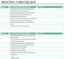 Moving Checklist Template New Moving List Template Business Relocation Plan Development