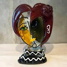 murano glass sculpture aida