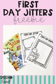 First Day Jitters Is The Perfect