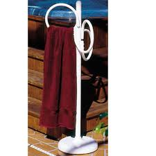 outdoor lamp company outdoor spa and pool towel rack bronze