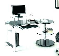 glass desk with storage glass desk with drawers computer desks storage top white d glass computer glass desk with storage