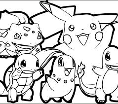 Free Pokemon Coloring Pages To Print Coloring Pages Printable Best