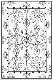 Simple Carpet Colouring Pages Mcoloring