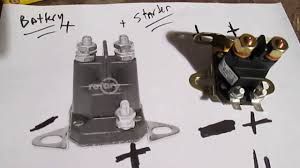 easy test solenoid riding lawn mower tractor no start by pass All Lawn Mower Wiring Diagrams easy test solenoid riding lawn mower tractor no start by pass starter diagram how it works
