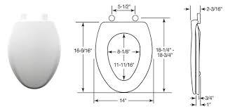 elongated toilet bowl dimensions. kohler toilet replacement parts for the san raphael series ingenium® flush system models # k-3466 and k-3467 elongated bowl dimensions e