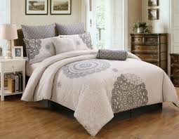 ivory medallion california king comforter sets for bedroom decoration ideas