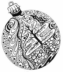 Small Picture Adult Coloring Pages Free to Print Christmas ball Adult