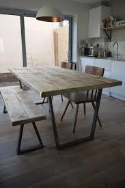 john lewis calia style extending vine industrial reclaimed top dining table ebay