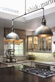 industrial style kitchen island lighting