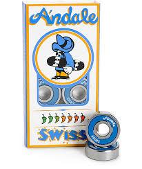 skateboard bearings andale. andale swiss skateboard bearings