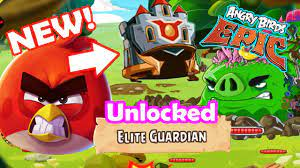 Angry Birds Epic: Gameplay Unlocked New! (Elite Guardian) Red Helm Dangers  From The Deep - YouTube