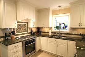 kitchen with black granite countertops granite white kitchen cabinets with black granite countertops images