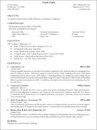 Write Resume Template Impressive How To Write A High School Resume For College Resume Templates For