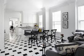black and white kitchen ideas. Streeterville-Renovation-by-Q-Construction Black And White Kitchen Design Ideas