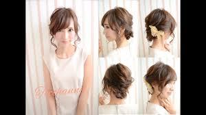 結婚式での髪型のマナーまとめ長さ別の人気お呼ばれヘアスタイルは