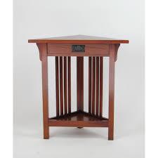 Corner tables furniture Small Wayborn Oak Corner Table The Home Depot Wayborn Oak Corner Table9009 The Home Depot