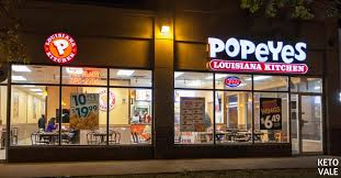 popeyes low carb options what to eat