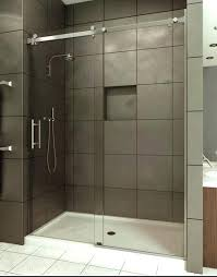 semi frameless sliding shower door sliding shower doors semi frameless sliding door shower screen