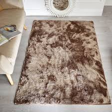 Rug Shaggy Flair Wisp Shaggy Rug In Mink Next Day Delivery Flair