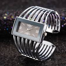 Big Face Designer Watches Us 4 73 Big Face Gold Silver Cuff Bangle Watch Women Elegant Top Brand Analog Quartz Watch Ladies Watches Reloje Mujer Montre Femme Gift In Womens