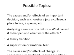the causal analysis essay  12