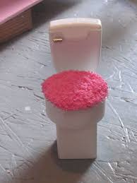 barbie furniture diy. barbie doll toilet made from the top of a soft scrub bottle and furniture diy n