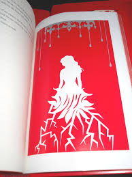 one of the ilrations i made for the red queen collector s edition