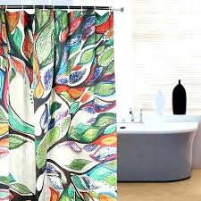 tree shower curtains fabric tree shower curtain 1 waterproof fabric colorful tree pattern bathroom shower curtain hooks in shower fabric tree shower curtain